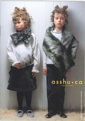 ハッカパリの子供服ブランド「asshu・ca」2002年秋冬 撮影/斉藤 亢